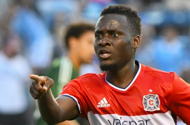 Ghana striker David Accam reveals desire to retire at Hearts of Oak