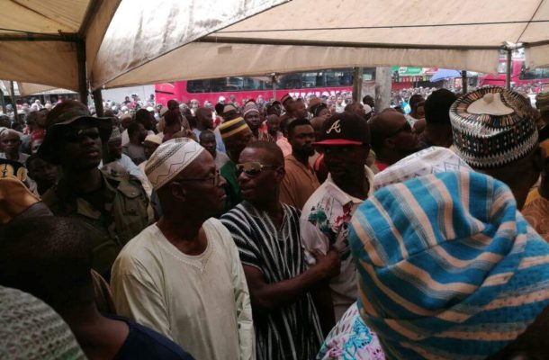 PHOTOS: Nima comes to a standstill for Alhaji Bature's funeral