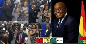 VIDEO: Nana Addo caught breast-watching in dancing moves with Ayorko Botchwey