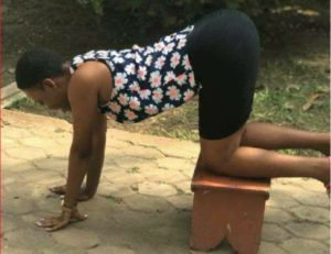 Photos: 'Kitchen stool challenge' trends following viral sex video
