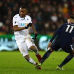 Jordan Ayew features as Swansea lose first game under new boss