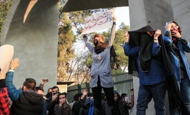 Iran protests: Students 'among more than 1,000 arrested'