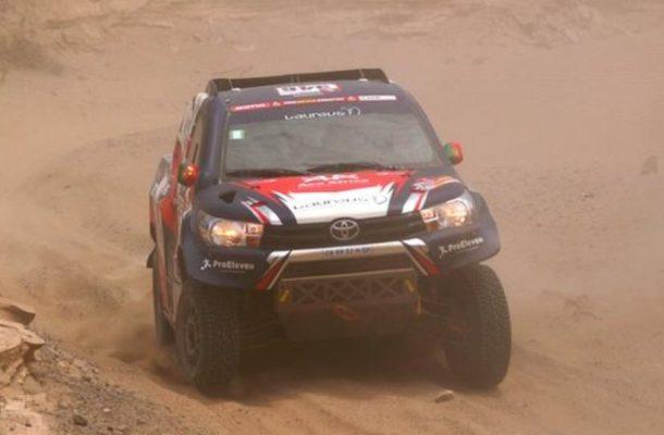 Dakar Rally: Back injury ends Andre Villas-Boas debut