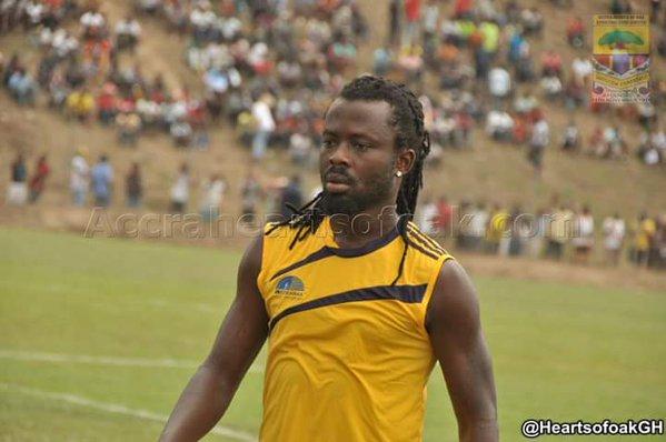 Malik Akowuah, Christopher Bonney not Hearts of Oak quality- Hearts chief
