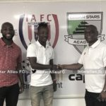 New signing Baffour Gyawu relishes 'big challenge' at Inter Allies