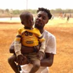 PHOTOS: Chelsea target Richmond Boakye donates to orphanage in Accra