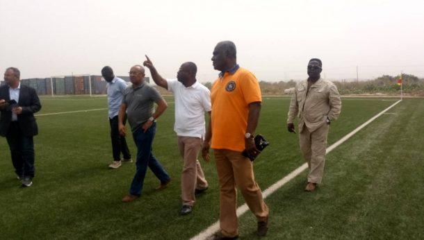 PHOTOS: CAF president Ahmad visits Ghanaman Soccer Centre of Excellence