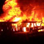 W/R: Fire guts shops, car at Bekwai