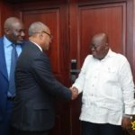 You have Ghana's continued support - Akufo-Addo to CAF President