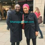 VIDEO: Ghana VP Bawumia seen walking healthy and in good spirits in London
