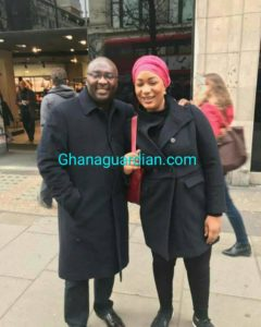 VIDEO: Ghana VP Bawumia seen walking healthy and in good spirits in London