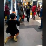 VIDEO: Lady goes 'crazy' after fiancé turns down proposal in public