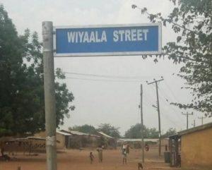 PHOTOS/VIDEO: Street named after Singer, Wiyaala