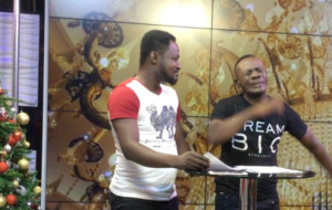 Videos: Akrobeto and Funny Face read news on TV