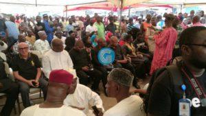PHOTOS: Bawumia, top NDC gurus storm Alhaji Bature's funeral