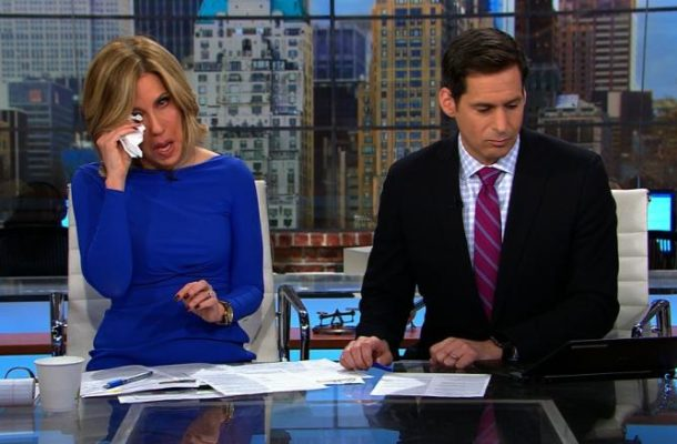 VIDEO: CNN anchor cries on live TV over Ghanaian soldier who died in Bronx fire