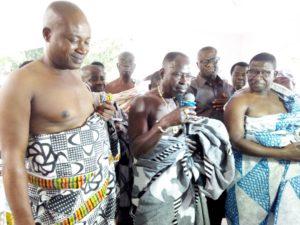 PHOTOS: Amakye Dede installed chief at Agogo