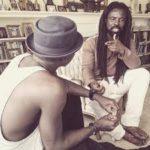 PHOTOS: Stonebwoy, Rocky Dawuwi in studio cooking something big