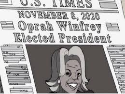 """The Boondocks"" predicted an Oprah 2020 win 12 years ago"