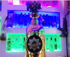PHOTOS: World's most expensive bottle of vodka worth $1.3m goes missing at a bar