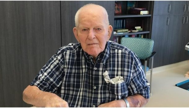 Oldest man in Canada says the trick to a long life is to pick a good wife