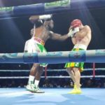 VIDEO:The controversial moment Emmanuel Tagoe was awarded a knock out vs Saucedo