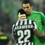 kwadwo Asamoah pays tribute to Gianluigi Buffon on his milestone birthday