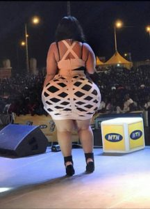 PHOTOS: Woman claims she has the biggest butt in Africa