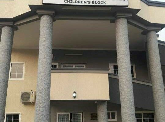 Kwame 'Despite' presents a gift of Children's Block to 37 Military hospital