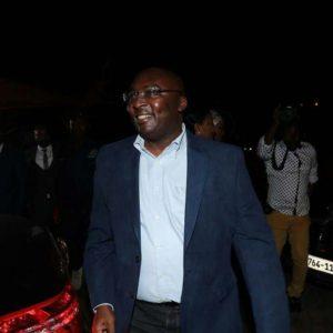 [Photos] Vice President Bawumia's arrival at  the Kotoka International Airport