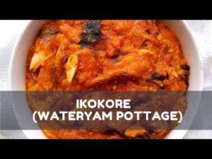 VIDEO: GhanaGuardianKitchen's Easy steps to make 'mpotopoto' (Yam Pottage)