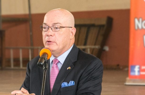 1D1F: Akufo-Addo may not be able to implement - U.S Ambassador