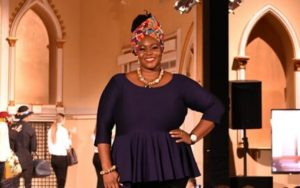 PHOTOS/VIDEO: Selina Beb wows with Kente at New Orleans Fashion Week
