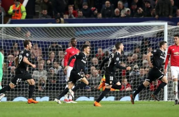 UEFA Champs League: Man United knocked out of by Sevilla