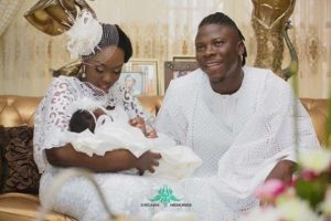 PHOTOS: Stonebwoy christens first daughter at a colourful ceremony