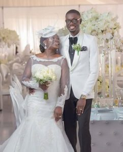 VIDEO: Ameyaw Debrah's first dance with wife