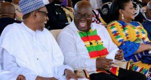 PHOTOS: Buhari at Ghana's 61st Independence anniversary