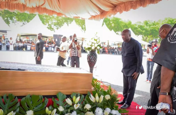 PHOTOS: Late K.B Asante laid to rest