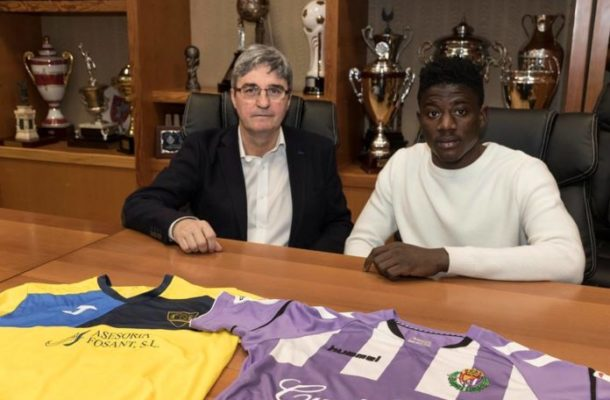 Ghanaian youngster Karim Salisu joins Real Valladolid