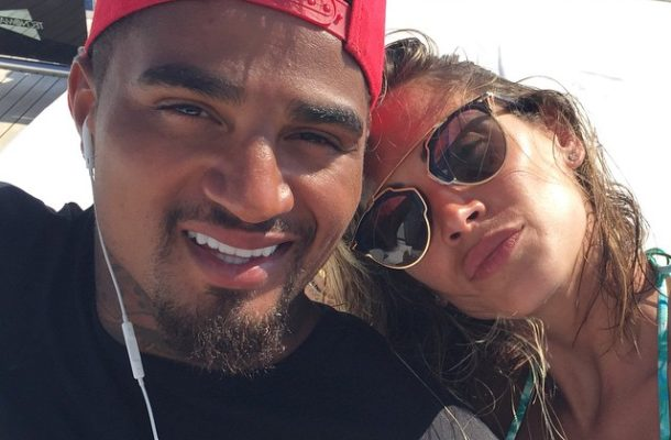 PHOTOS: K.P Boateng's wife shares intimate pictures of them on social media
