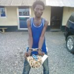 E/R: 'Drug peddler' detained with 138 wrappers of wee at Nsawam