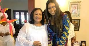 VIDEO: Yvonne Nelson, Efya surprise First lady on her birthday