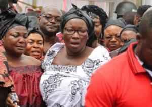 PHOTOS: Ghanaians mourn  Ebony Reigns