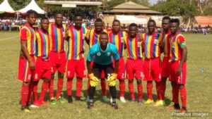 Hearts beat Liberty3-2 in a friendly