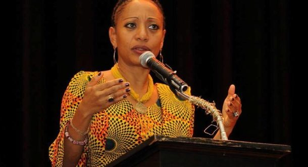 Break away from party politics to enable development- Samia Nkrumah