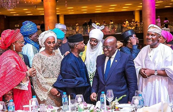 PHOTOS: Akufo-Addo, Bill Gate, Others attend Dangote's daughter's lavish wedding