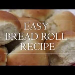 VIDEO: Watch how to make easy bread rolls