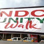 NDC storm Kumasi for Unity Walk