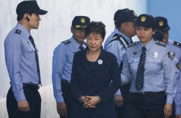 S Korea's ex-leader given hefty jail term