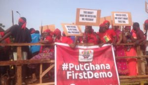 Anti Ghana-US military deal demo hits Tamale